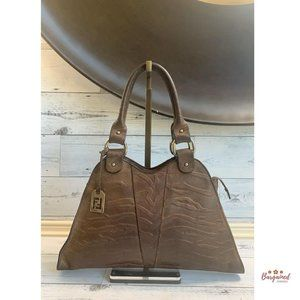 Authentic Fendi Devil Trapezio Bag 8BR254